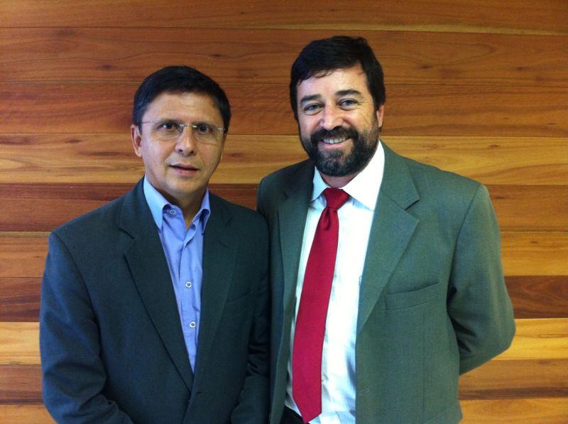 Presidente da ABM e prefeito de Itapemirim
