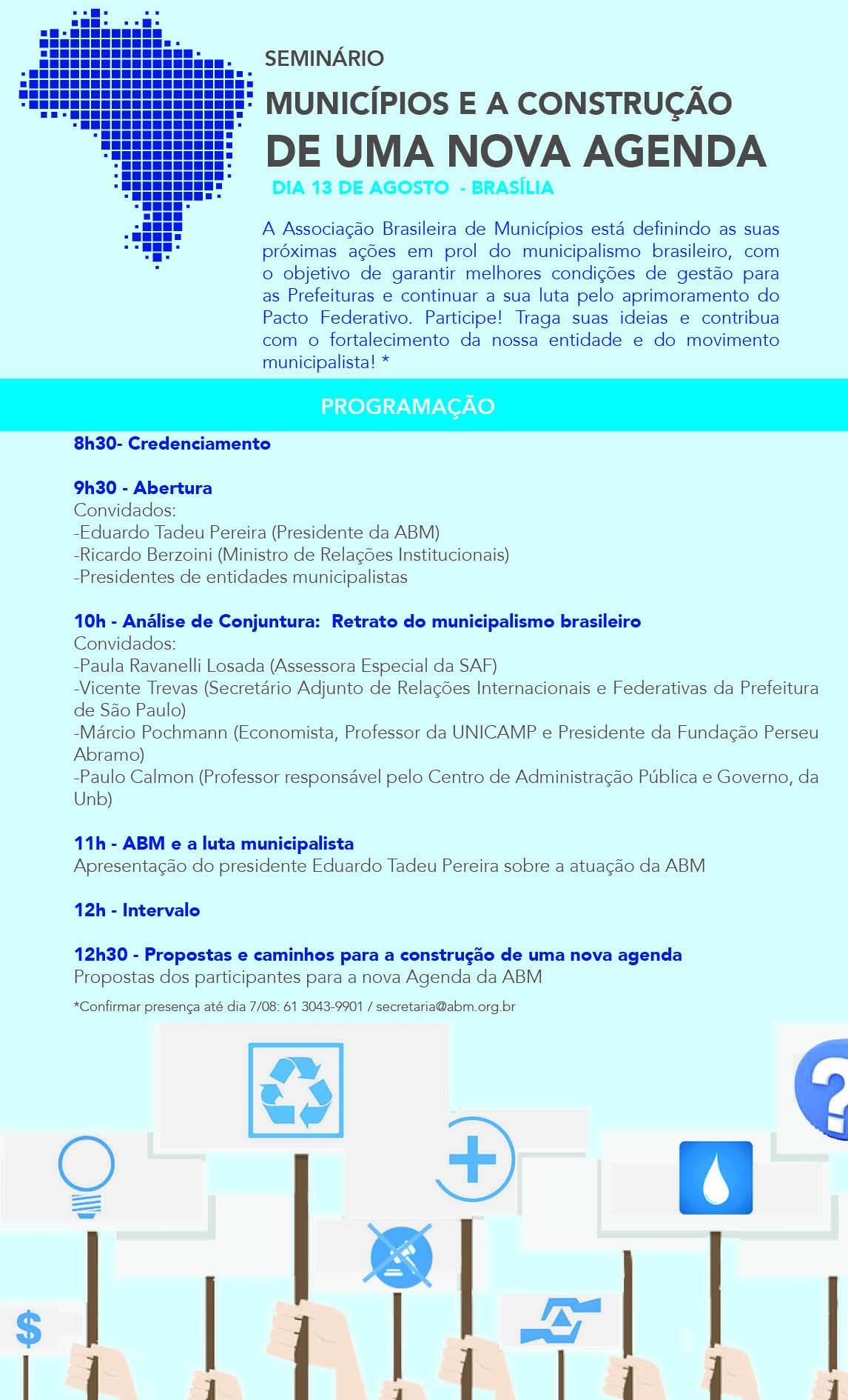 programacao seminario