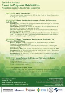SeminarioMaisMedicos-SP-programação
